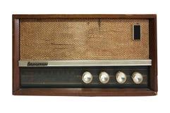 Retro radioontvanger van de laatste eeuw Stock Foto