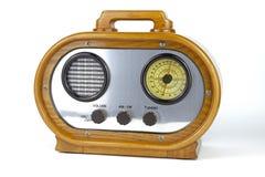 Retro radiosände mottagaren Arkivfoto