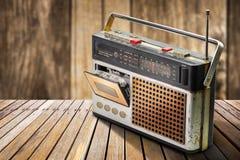 retro radiowego Fotografia Stock