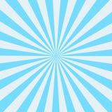Retro raggio dello sprazzo di sole nello stile d'annata Fondo astratto del libro di fumetti illustrazione vettoriale