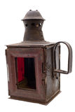 The retro railroad lantern Royalty Free Stock Images