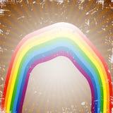 Retro rainbow Stock Photography