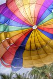 Retro Rainbow parachute Royalty Free Stock Images
