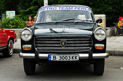 """Retro rally """"Old capitals"""" Stock Images"""