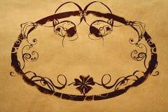 retro ram Royaltyfri Fotografi