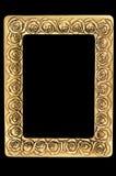 retro ramowa złota fotografia Obraz Stock