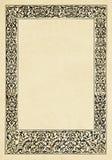 Retro, ramowy, rocznik dekoracyjna rama fotografia royalty free