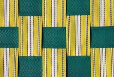 Retro- Rasen-Stuhl-Detail Stockbilder