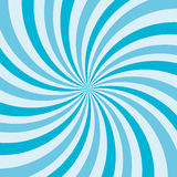 Retro ray background blue color. Vector illustration Stock Photo