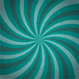 Retro ray sunbrust background in multicolor with grunge Stock Images