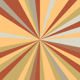 Retro rays background Royalty Free Stock Photography
