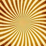 Retro Rays Grunge Texture stock illustration