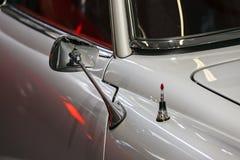 Retro rear view mirror Stock Photography