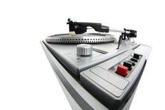 Retro record player Royalty Free Stock Image