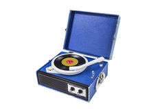 Retro Record Player Royalty Free Stock Image
