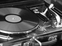 Retro record player Royalty Free Stock Photography