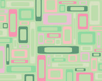Retro rectangles background Stock Photos