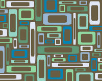 Retro rectangles background. Retro rectangles in various colors and sizes collage Royalty Free Stock Photo