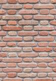Retro red brick wall royalty free stock image