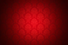 Retro red luxury wallpaper. High resolution background wallpaper with fine detailed red ornaments Stock Photos