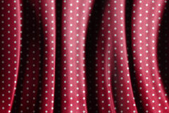 Retro red polka dot pattern Royalty Free Stock Image