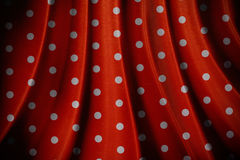 Retro red polka dot pattern Royalty Free Stock Photo