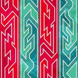 Retro red seamless pattern Royalty Free Stock Photography