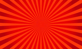 Retro red shiny starburst background. Sunburst abstract texture.Vector illustration. Royalty Free Stock Photos
