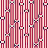 Retro red stripes seamless texture Royalty Free Stock Photos
