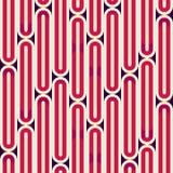 Retro red stripes seamless texture Royalty Free Stock Photos