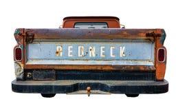 Retro Redneck Truck Stock Photo
