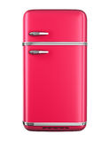 Retro refrigerator Stock Photography