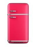 Retro refrigerator Stock Photography