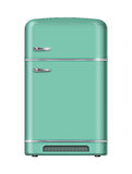 Retro refrigerator Royalty Free Stock Photography