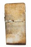 Retro refrigerator Stock Image