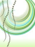 Retro regenboog abstracte achtergrond Stock Afbeeldingen