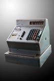 Retro registratore di cassa Immagine Stock