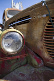 Retro REO Speed Wagon rusty truck front end Royalty Free Stock Images