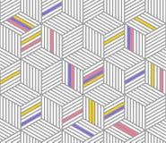 Retro repetitive wallpaper - Vintage vector pattern. Retro repetitive wallpaper - Vintage 2d vector pattern - Black and white stock illustration