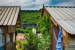 Retro restaurang för El Dorado i Serbien Royaltyfria Bilder