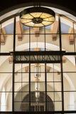 Retro Restaurant  and Architecture. Retro Restaurant and surrounding architectre Royalty Free Stock Photo