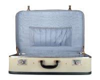 Retro resväska Royaltyfri Foto