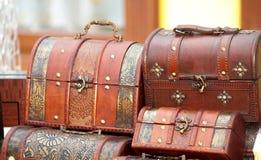 retro resväskor Arkivfoton