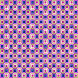 Retro reticolo dei quadrati illustrazione di stock