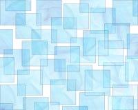 Retro reticolo della priorità bassa del Aqua di stile illustrazione vettoriale