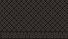 Retro reticolo di puntini Fotografia Stock