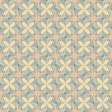 Retro reticolo geometrico Immagini Stock