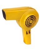 Retro revival hair dryer. Overwhite background stock photos