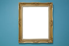 Retro Revival Old Gold Frame Royalty Free Stock Photos