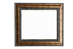 Retro Revival Old Gold Frame Royalty Free Stock Photography